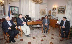 Επίσκεψη αντιπροσωπείας της AHEPA στο Δήμο Λευκωσίας