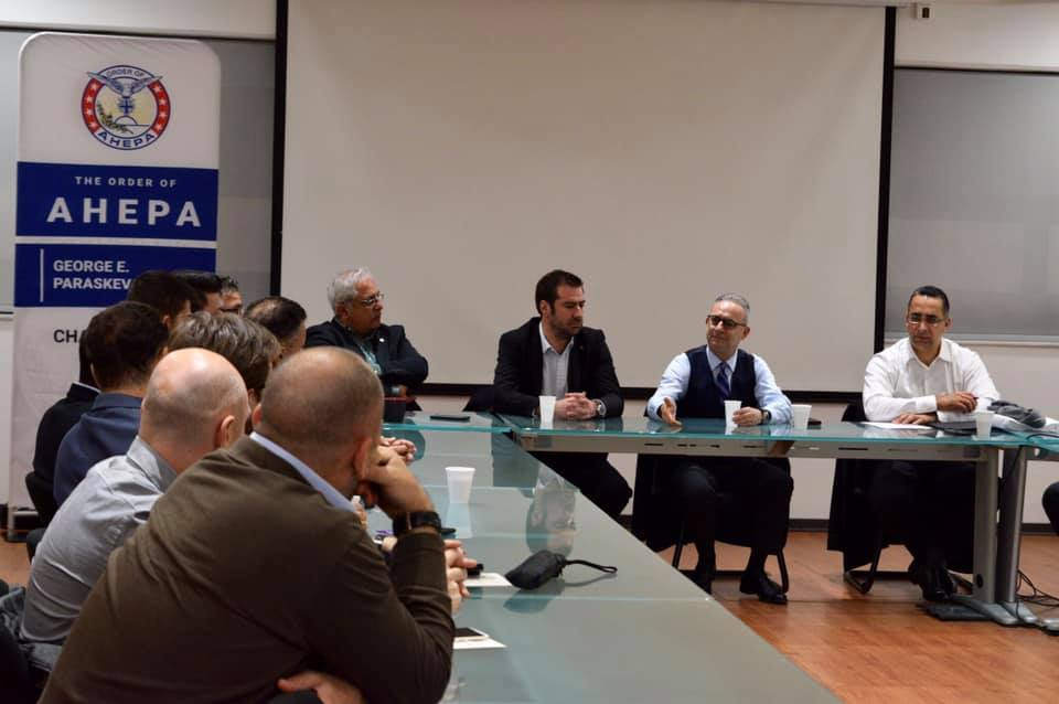 AHEPA Cyprus closed session on Cyprus-USA relations