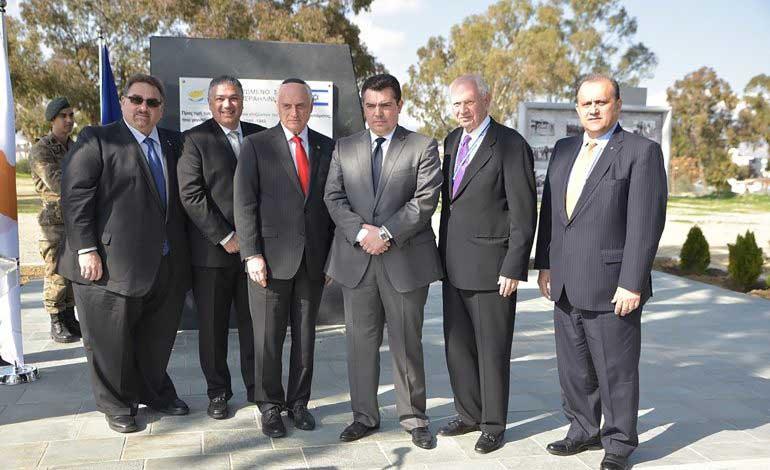 Επίσκεψη αμερικανο-εβραϊκών οργανισμών, AHEPA και AHI στην Κύπρο