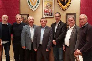 Αποχαιρετιστήριο δείπνο από την AHEPA Κύπρου προς τιμήν του απελθόντα Αρχηγού της Ε.Φ Ηλία Λεοντάρη