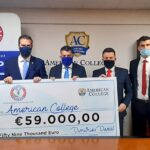 AHEPA Cyprus supports local students with a donation to the American College of Cyprus